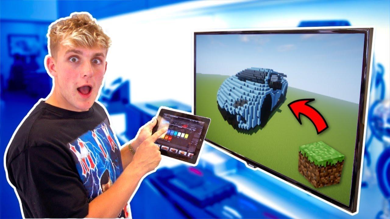 Jake Paul S Lamborghini Huracan Performante In Minecraft Youtube