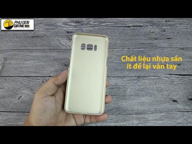 Ốp lưng Samsung Galaxy S8 dạng sần Nillkin