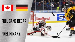 Canada vs Germany Full Game Highlights December 30 WJC 2020