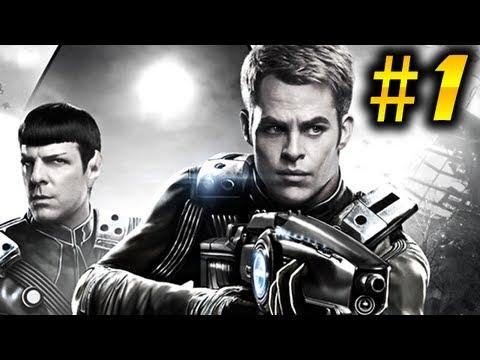 Star Trek Part 1 - Gameplay Walkthrough - Kirk VS Spock? [2013 Game]