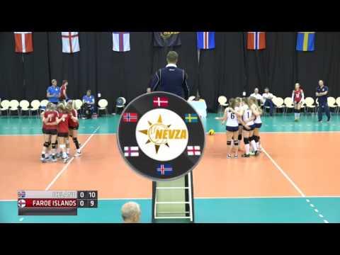 Day 2 Girls Court 1 Iceland v Faroe Islands