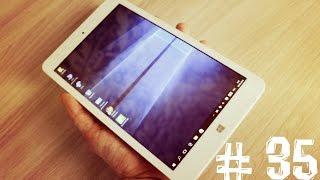 Тест планшета Chuwi Hi8 Pro WINDOWS 10 + ANDROID 5.1 (Упало с неба # 35)