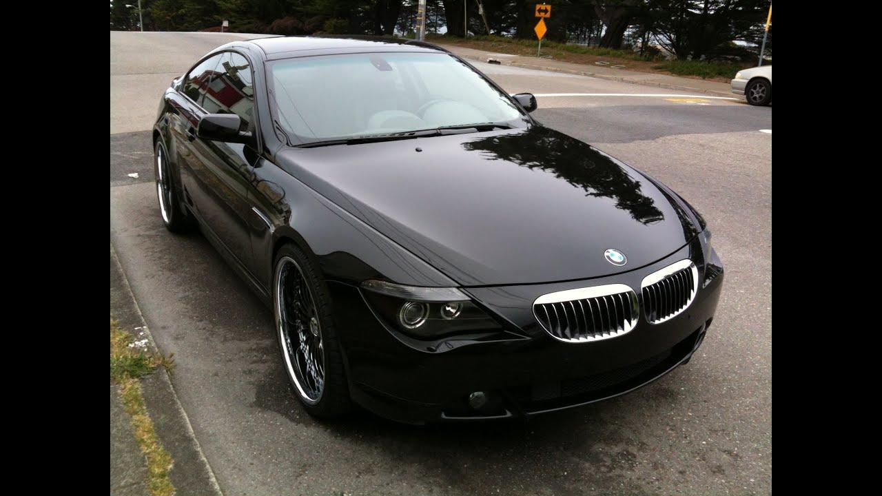 Brutal BMW Ci Exhaust Sound YouTube - 645i bmw