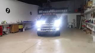 2018 F-250-Notfall-Strobe Lights - www.WickedWarnings.com