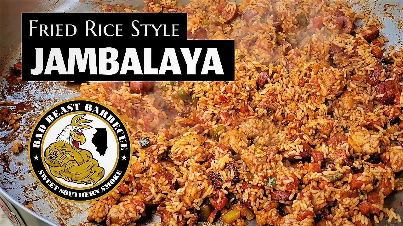 Fried Rice Style Jambalaya - #recteq Matador