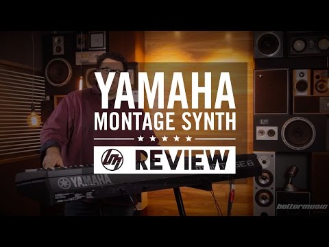 Yamaha Montage Series Synthesiser Demo | Better Music