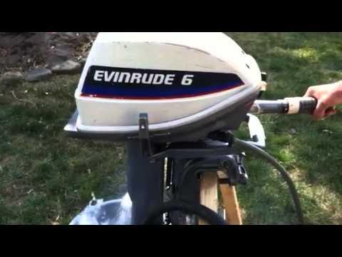 6 Hp Evinrude 1975 Youtube