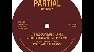 "Orville Smith - Builders Temple - Partial Records 10"" PRTL10015"