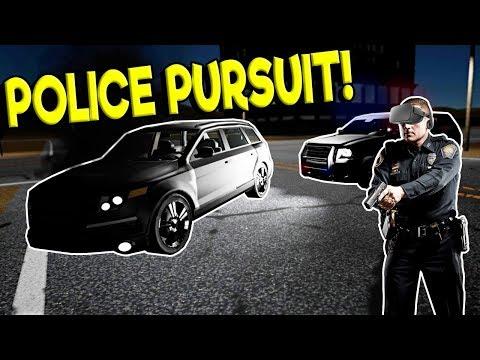 POLICE CHASE & CRASH IN VR! - Police Enforcement VR Gameplay - Oculus VR Game