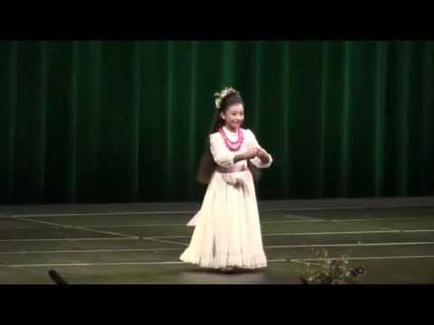 2015 Miss Keiki Hula - Faith Paredes (Hana Hou Performance)