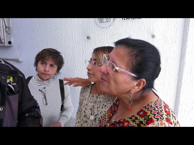 Entrevista a Nashieli Ramírez en la inauguración de Delegación, en la Alcaldía Tláhuac