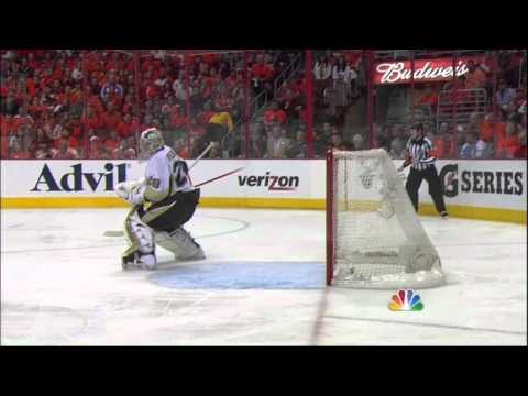 Erik Gustafsson goal. Pittsburgh Penguins vs Philadelphia Flyers 4/22/12 NHL Hockey