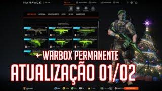 WARFACE - Atualização 01/02 + Evento 2x EXP GP PF e crown + WARBOX PERMANENTE