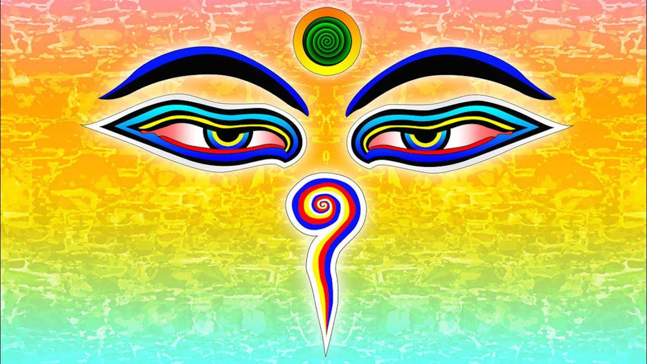 The Eyes Of The Buddha Symbol Of The Day 5 Youtube