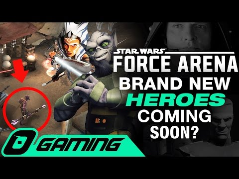NEW Hero/Legendary cards in Star Wars Force Arena (Zeb, Ashoka, and More)   SYLO Gaming