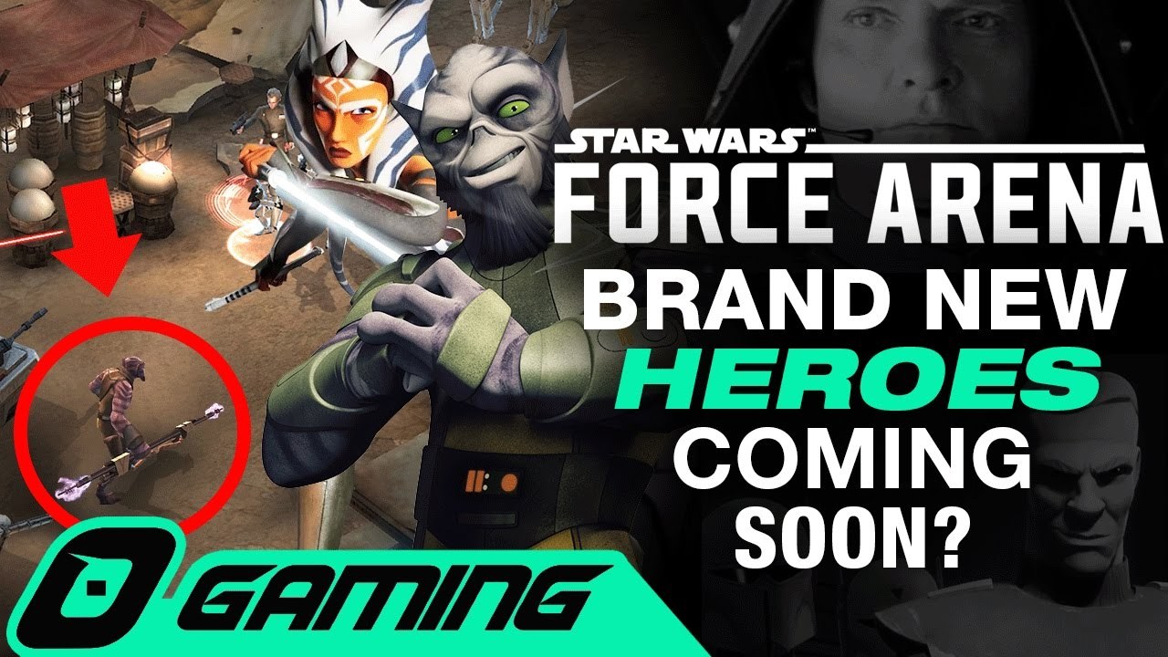 when does star wars force arena come out