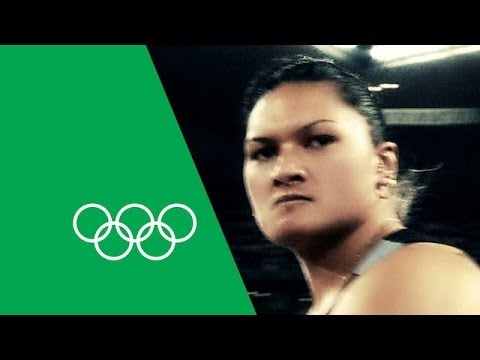 """""""Anything Can Happen"""" Valerie Adams"""