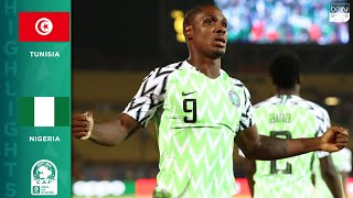 HIGHLIGHTS Tunisia vs Nigeria