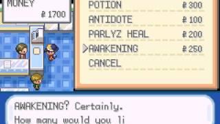 Pokemon Shiny Gold X Version - Pokemon Shiny Gold X Version (GBA / Game Boy Advance) - Walkthrough Pt 1:  SLOWPOKE???? - User video