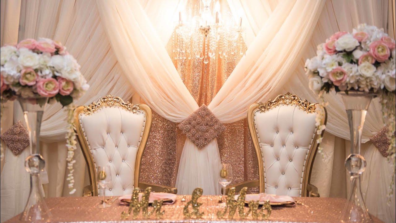 glam diy wedding or
