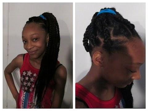 Rubber Band Method Box Braids Daughter Edition ....