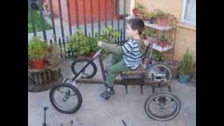 Auto A Pedales Hecho En Casa. (home Made Pedal Car)