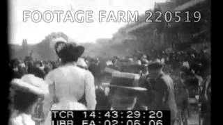 Paris 1900 World's Fair, Military Review - 220519 26 | Footage Farm
