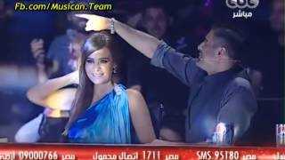 اغنية محمد الريفى   على بابي واقف قمرين   من برنامج X Factor