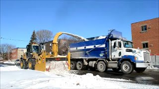 SNOW REMOVAL OPERATION IN LAVAL QUEBEC