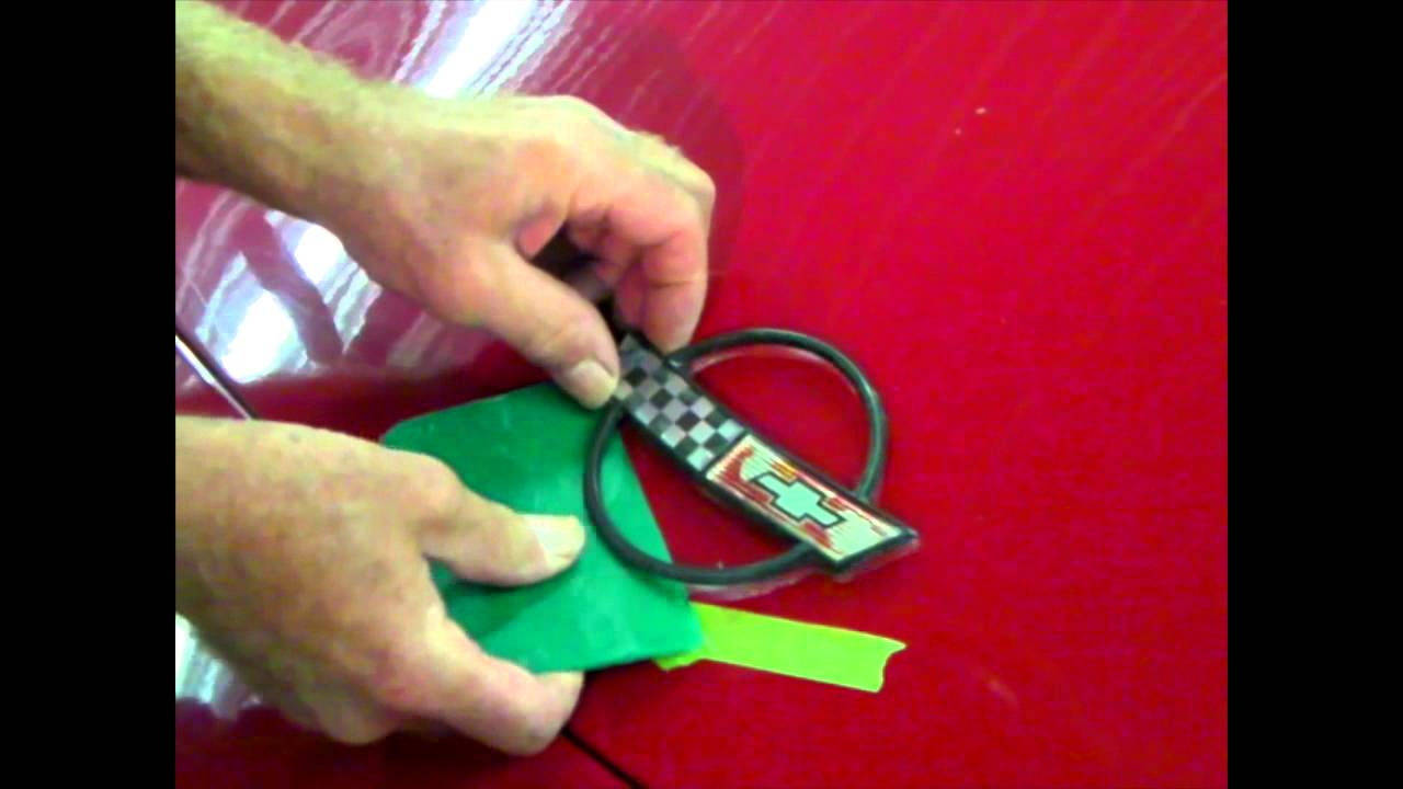 2012 Corvette For Sale >> How To Install a C4 Corvette Hood Emblem - YouTube