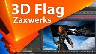 aEplug 009 - Обзор Zaxwerks 3D Flag 2 / Создаем флаг в After Effects