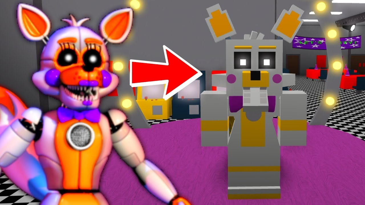 Becoming Lolbit In Roblox Roblox Animatronic World Youtube