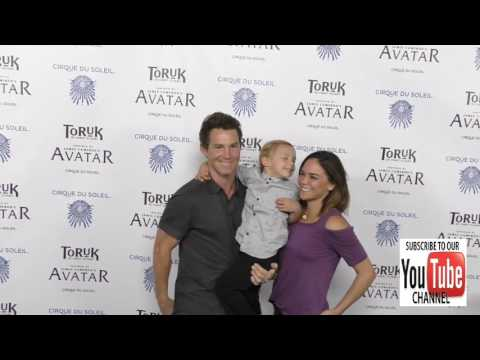 Shawn Hatosy at the  Night Of Cirque du Soleil's Toruk   The First Flight at Staples Center i