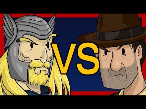 Thor VS Indiana Jones - the Rajesh & Howard song ✎