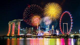 Download lagu SINGAPORE FIREWORKS [4K] NEWYEAR 2020  - Spot Terbaik Kembang Api di Singapura