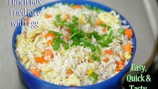 QUICK Vegetable Fried Rice (with egg) |  RecipesAreSimple