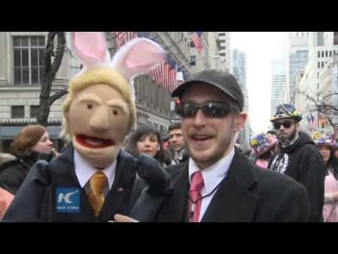 2016 Easter Parade and Bonnet Festival in NYC