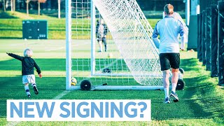 A NEW SIGNING!? | Man City Training