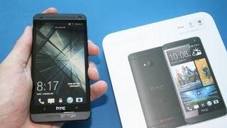 HTC One (Stealth Black) - Unboxing deutsch