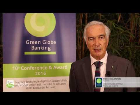 Intervista a Francesco Andretta | X Edizione Green Globe Banking Conference & Award