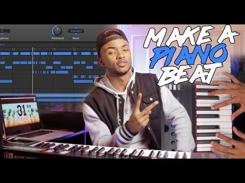 How To Make A PIANO Beat IN 5 MINUTES!!
