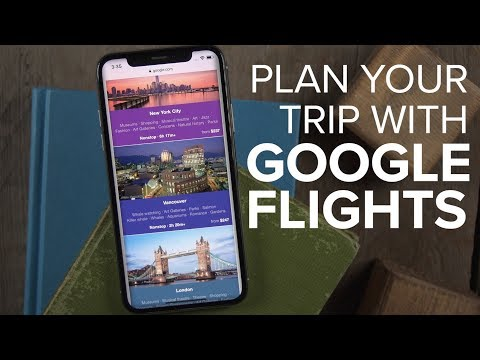 Use Google Flights when planning trips