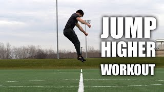 Jump Higher In 5 Minutes (Workout)