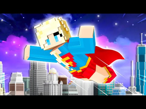 Playing as a SUPER HERO in Minecraft!