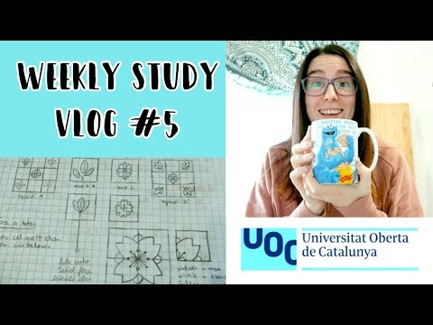 DISEÑANDO un logotipo y un papel de pared · STUDY VLOG #5 | Christine Hug