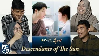 Gambar cover Indonesian React to K-Drama (Descendants of The Sun / 태양의 후예) #1