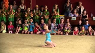 Показательные выступления, 2й день(Видеосъемка http://www.gspro.biz/ Третий детский Международный турнир по художественной гимнастике