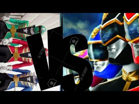 Power Rangers Megaforce Vs Super Megaforce.