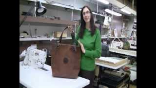 Bison Leather Market Tote - Duluth Pack