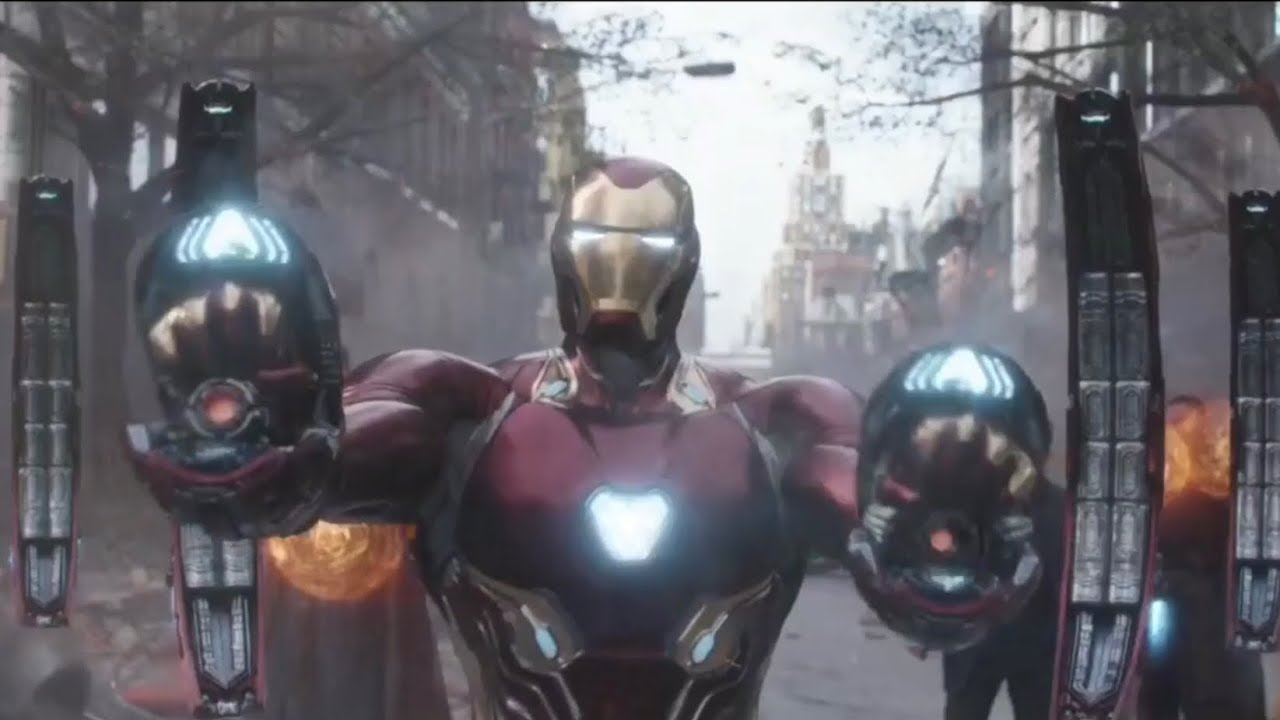Avengers Infinity War Iron Man Mark 50 Suit Up Youtube